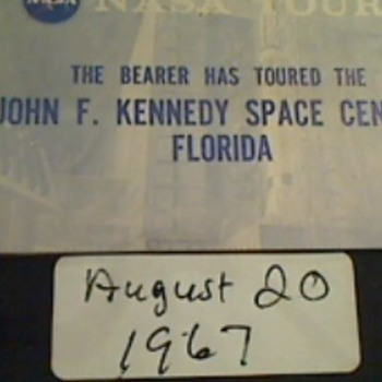 Photos from 1967. Visitors tour of Kennedy Space center.