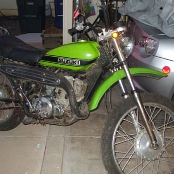 Barn find with 1334 miles - Motorcycles