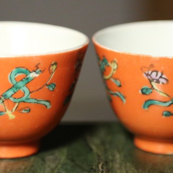 Two Teacups from China