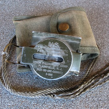 Vietnam War Used US M-1950 Compass Magnetic  - Military and Wartime