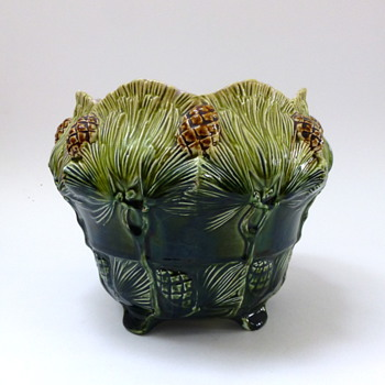 Rörstrand flower pot - Art Pottery