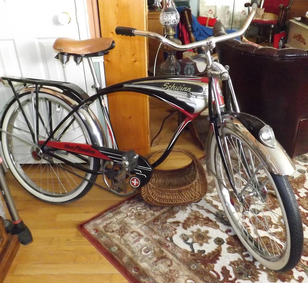 1949 Schwinn Black Phantom Bicycle Collectors Weekly