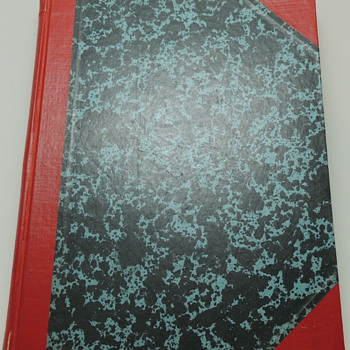 Retro Marble Notebook - Office