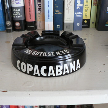 Copacabana night club ashtray.
