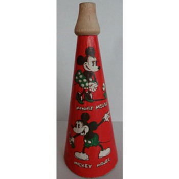 1930&#039;s Mickey Mouse Megaphone/Horn Toy
