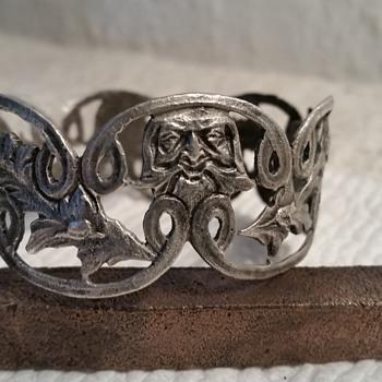 Victorian Era Silver Bracelet