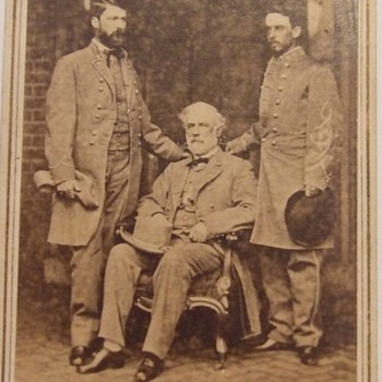 Iconic Robert E. Lee Civil War CDV