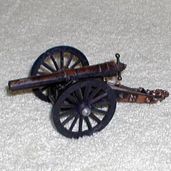 Bronze Civil War Cannon Pencil Sharpener  - Office