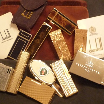 Lighter collection left by my late husband - Tobacciana