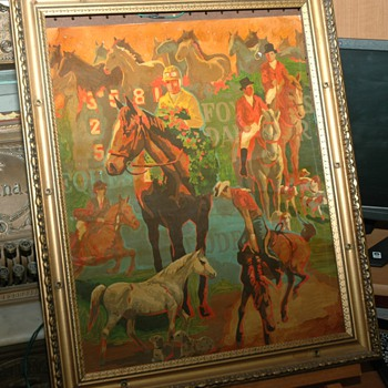 Horse Painting..