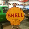 1920's Shell sign