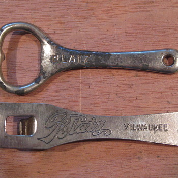 Some beer openers I enjoy finding and showing. - Breweriana