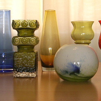 Riihimen Lasi - Art Glass