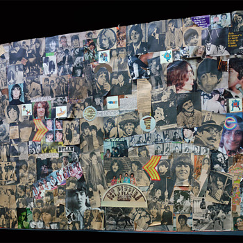 My Beatles Collage from the 60's