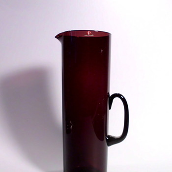 Jug, probably by Timo Sarpaneva or Kaj Franck (Iittala)