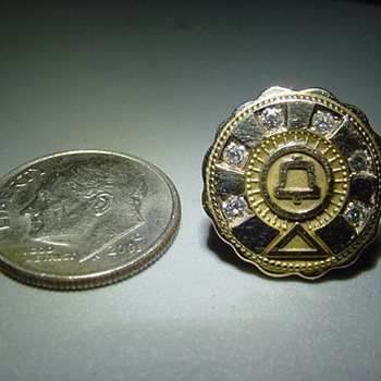 30 Year ?? Retirement Pin ?? AT&T / Bell System, Before Divestiture - Medals Pins and Badges