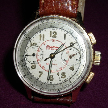 1940&#039;s Breitling Chronomat 