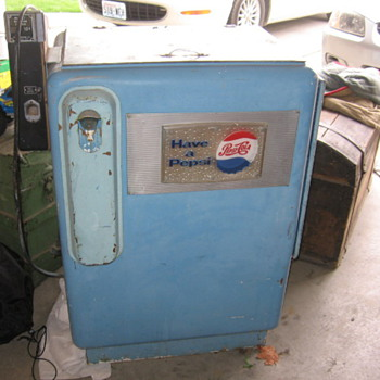 Pepsi Cola Machine  - Coin Operated