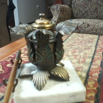 antique inkwell