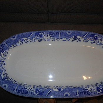 Copeland Spode grasshopper pattern