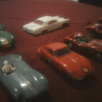 Old slot cars...  Strombecker, Eldon ect.