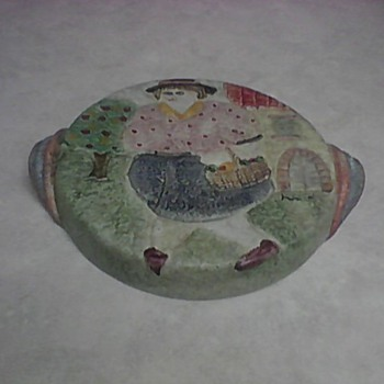 ITALIAN CERAMIC WALL PLAQUE - Art Pottery