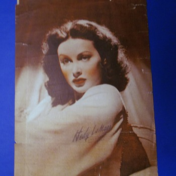 Hedy LaMarr Picture - Photographs