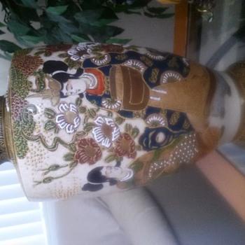 "12"" Japanese Pottery Urn"
