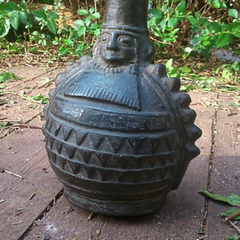 Inca Wine Jug? - Pottery