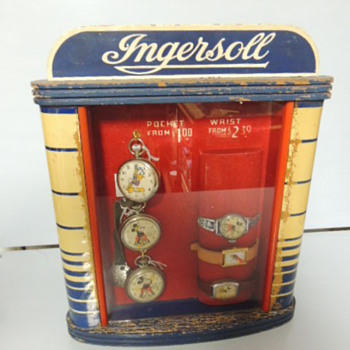 Ingersoll Watch display