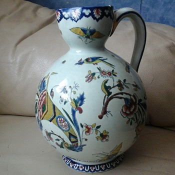 FRENCH FAIENCE JUG - Pottery