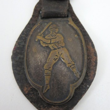 Baseball Pocket Watch Fob