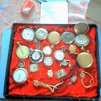 Old Watches - Wristwatches