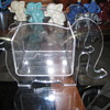 Clear plastic box elephant