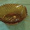 Amber wavy dish