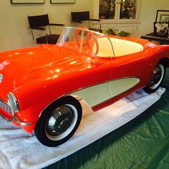 1956 Eska Kiddie Corvette - Toys