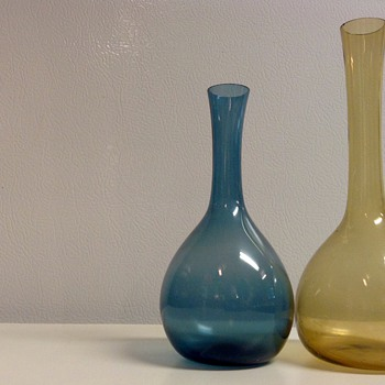 Scandinavian Glass Vases