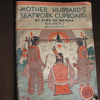 Mother Hubbards Seatwork Cupboard 1935 - Books