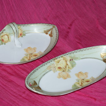 RS Germany:  Two Small Dishes - China and Dinnerware