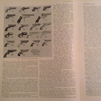 Cartridge pepperboxes - Military and Wartime