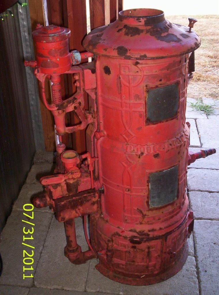 Antique Hot Water Heater Pretty Kool I Think