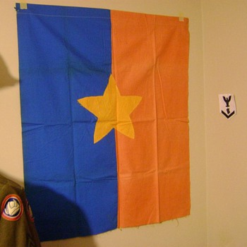 Original North Vietnamese Banner - Military and Wartime