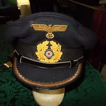 WWII German Navy Officers visor - Military and Wartime