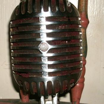 """Shure Model 55A Unidyne """"Fatboy"""" microphone - Radios"""