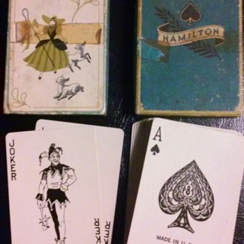 Hamilton Playing cards