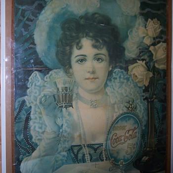 1900? Coca-Cola Poster