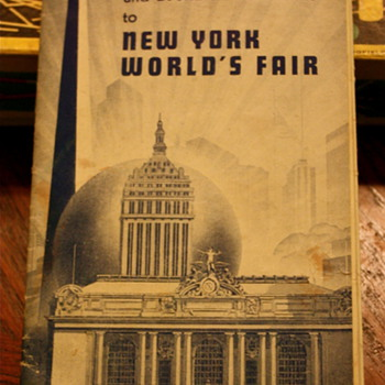 New York World's Fair Map of NYC - Advertising