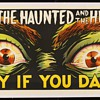 "Original 1963 ""The Haunted and the Hunted"" Stone Lithograph"