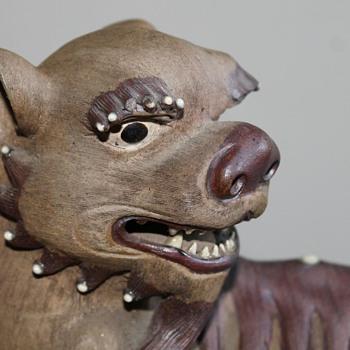 Shi Shi Lions (Foo Dogs) c1920