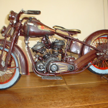 Metal Harley Davidson Model - Motorcycles